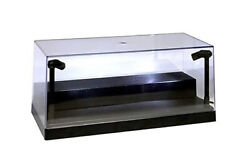 Collectible Display Case w. LED lights amp; Riser for 1 24 Diecast Model car BLACK $19.95