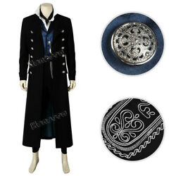 The Crimes of Grindelwald Gellert Grindelwald Cosplay Costume Outfit Full Set