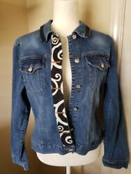Women's Too-She-She Jean Jacket Embellished