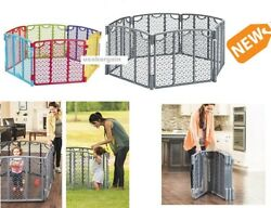 Evenflo Playard Kids Baby Safety Gate Indoor Outdoor Playing Space Play Yard $76.94