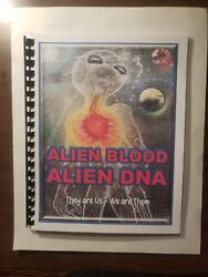 ALIEN BLOOD ALIEN DNA - Blue Planet Project Book #25 – Aliens and UFOs $24.95
