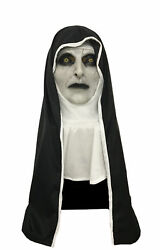 The Nun Cosplay Mask Costume Prop Helmet Valak Halloween Scary Horror Movie HOT