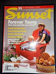 Sunset Magazine May 1993 Special 95th Anniversary Issue Adirondack Porch Chairs