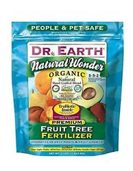 Dr. Earth 708P Organic 9 Fruit Tree Fertilizer In Poly Bag 4 Pound $16.11