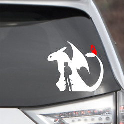 How To Train Your dragon Toothless Vinyl Decal Sticker Car Laptop Wall Decor $4.99