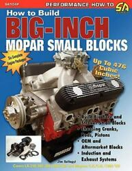 How to Build Big-Inch Mopar Small Blocks Brand New Free shipping in the US