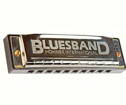 Hohner Classic BLUES BAND HARMONICA Key of C Song sheet included.          #dm
