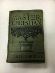 The Master Christian (1900) vintage hardcover book by Marie Corelli