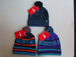 North Face Men's Ski Tuke V Pom Beanie NWT  $25.99