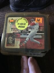 Mark McGwire St. Louis Cardinals 1999 MLB Lunch Box Lunch Boxes New!