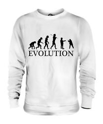 CONKERS EVOLUTION OF MAN UNISEX SWEATER MENS WOMENS LADIES GIFT HORSE CHESTNUT