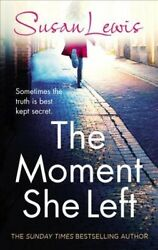 Moment She Left Hardcover by Lewis Susan Brand New Free shipping in the US