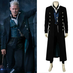Fantastic Beasts The Crimes of Grindelwald Cosplay Gellert Grindelwald Costume
