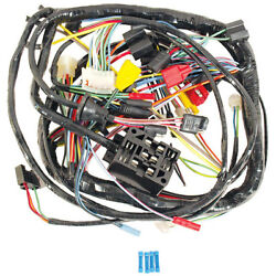 1968 Ford Mustang Under Dash Harness - Without Tach & Without Fog Lights (GT)
