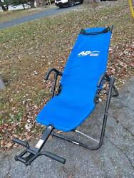 AB Lounge Sport Abdominal Workout Fitness Exercise Blue Lounger Chair Machine