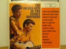 EVERLY  BROTHERS          LP     THE  GOLDEN  HITS  OF  $10.00