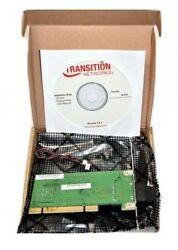 Transition Networks N FX SC 02 Network Interface Card 100Mbps PCI 1 x SC $29.99