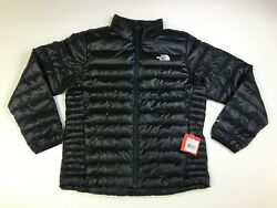 The North Face Men's Flare 550 Down Insulated Jacket TNF Black NEW
