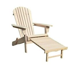 Merry Garden Adirondack Chair Kit with Pullout Ottoman