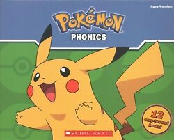 Pokémon Phonics Paperback by Lee Quinlan B. Brand New Free shipping in th...