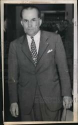 1944 Press Photo Alex Simpson suspect in murder of Mrs. Jean Long Detroit