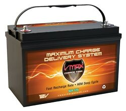 VMAX SLR125 Sealed Solar AGM Battery 12 Volt Deep Cycle Mobile home RV 125AH