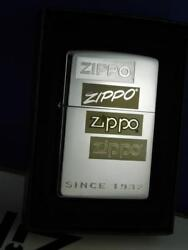 ZIPPO LIGHTER SINCE 1932 GENERATIONS CHROME  2007 SEALED NEW GIFT BOX