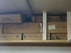 Large lot of home and commercial light bulbs