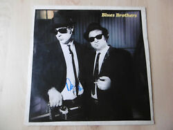 Dan Aykroyd & Blues Brothers Band signed LP-Cover Briefcase Full of Blues Vinyl