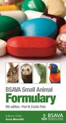 BSAVA Small Animal Formulary : Exotic Pets Hardcover by Meredith Anna Like...