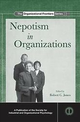 Nepotism in Organizations Paperback by Jones Robert G. (EDT) ISBN 08153908...