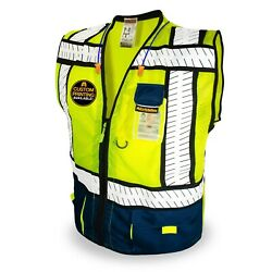 KwikSafety SHERIFF  ANSI Class 2 Fishbone Safety Vest