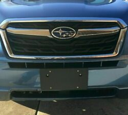 Front Round Bumper Holes License Plate Bracket for SUBARU NO DRILLING REQUIRED $14.95