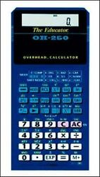 Casio Oh-260 Overhead Calculator Accessory by Contemporary (COR) ISBN 00725...