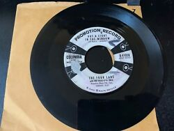 45 PROMO 4 Lads Thins We Did Last Summer Put A Light In The Window COLUMBIA VG