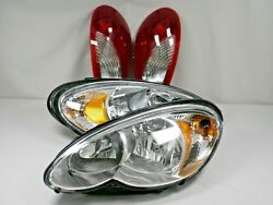 HEADLIGHTS & TAIL LIGHTS 2006-2010 Chrysler PT CRUISER With NEW BULBS for ALL
