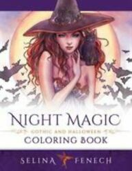 Night Magic Gothic and Halloween Coloring Book Like New Used Free shippin...