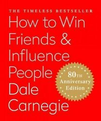 How to Win Friends amp; Influence People Hardcover by Carnegie Dale Like New ... $8.68