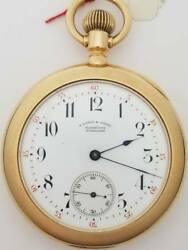 A. Lange & Sohne 18k 1A Quality Diamond Cap Civil War Museum Quality Gen Wells