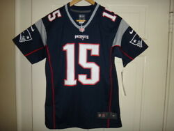 Youth Nike Chris Hogan #15 New England Patriots NFL Team Color Game Jersey