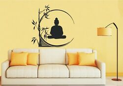 BUDDHA and BAMBOO Wall Art Sticker Decal Mural Decorative 3 x Sizes GBP 12.00