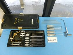 Acufex Surgical Orthopedic ProTrac ACL Drill Guide Set W Case