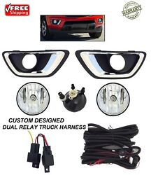 NEW FOG LIGHT KIT FOR FITS 2015 2020 CHEVROLET COLORADO TRUCK DUAL RELAY HARNESS $74.88