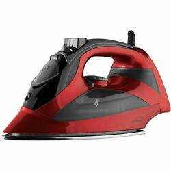BRAND NEW Brentwood MPI-90R Steam Iron with Auto Shut-Off, Red $28.89