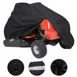 Deluxe Riding Lawn Mower Tractor Cover UV Waterproof Garden Fit Decks up to 72quot; $18.95