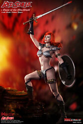 16 TBLeague PL2017-93 Red Sonja Scars of the She-Devil Female Action Figure