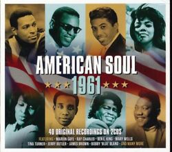 SEALED NEW CD Ray Charles Ben E King Jerry Butler Marvin Gaye Etc. - America