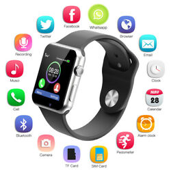 Blue-tooth Smart Watch Camera SIM 2G GSM TF For HTC Samsung Android Phone*A1 US
