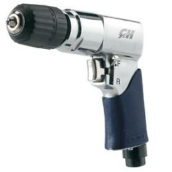 Campbell Air Drill Reversible Durable Keyless Chuck Wood Metal Drilling Tool New $37.11