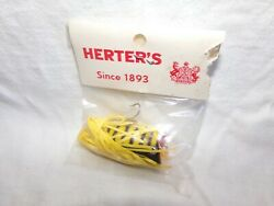 VINTAGE HERTER'S INDIAN DANCER (HULA POPPER TYPE) FISHING LURE 1 58